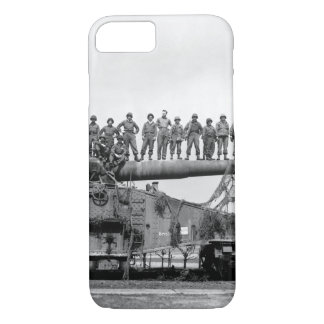 Mammoth 274-mm railroad gun_War Image iPhone 7 Case