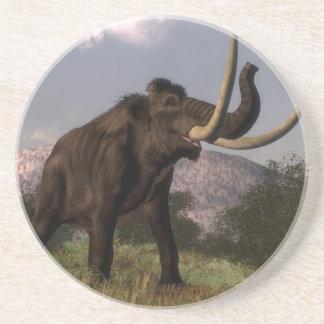 Mammoth - 3D render Beverage Coasters