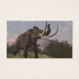 Mammoth - 3D render Business Card