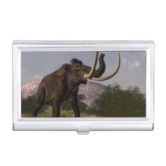 Mammoth - 3D render Business Card Holder