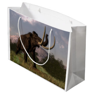 Mammoth - 3D render Large Gift Bag