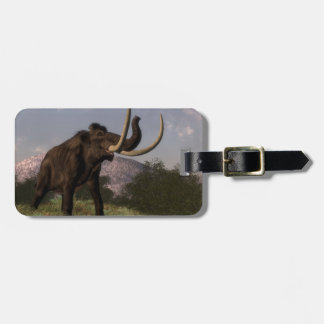 Mammoth - 3D render Luggage Tag