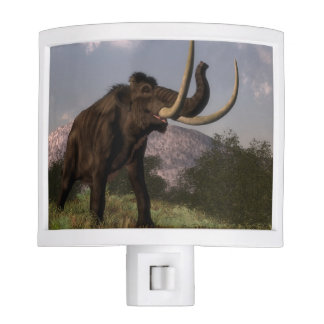 Mammoth - 3D render Night Lights