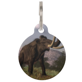 Mammoth - 3D render Pet ID Tag