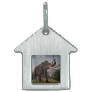 Mammoth - 3D render Pet Tag