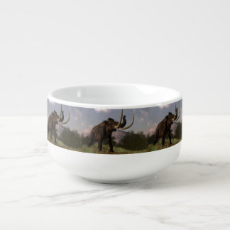 Mammoth - 3D render Soup Mug