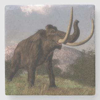 Mammoth - 3D render Stone Coaster