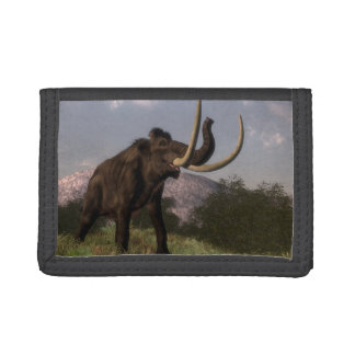 Mammoth - 3D render Tri-fold Wallets
