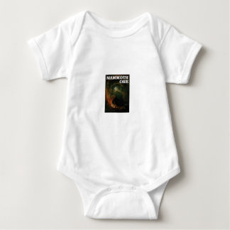 mammoth cave brown baby bodysuit