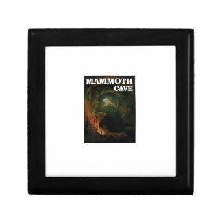 mammoth cave brown gift box