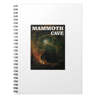 mammoth cave brown notebook