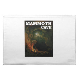 mammoth cave brown placemat
