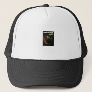 mammoth cave brown trucker hat