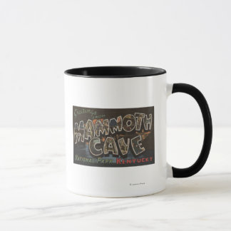 Mammoth Cave, Kentucky - Large Letter Scenes Mug