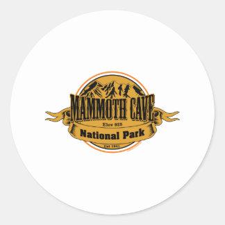 Mammoth Cave National Park, Kentucky Round Sticker