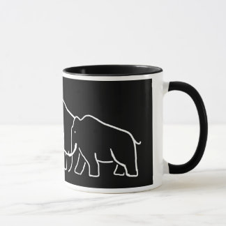 Mammoth Family Mug