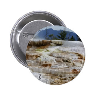 Mammoth Hot Springs 2 Inch Round Button