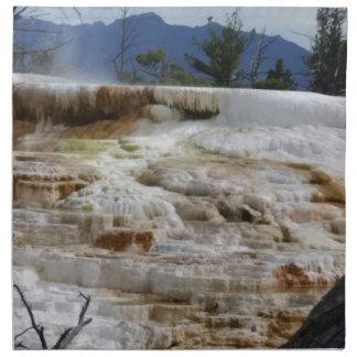 Mammoth Hot Springs Cloth Napkins