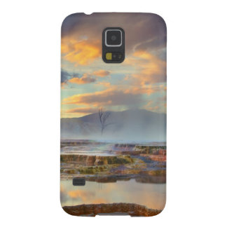 Mammoth Hot Springs Galaxy S5 Covers