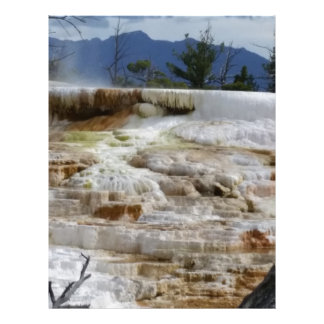 Mammoth Hot Springs Letterhead