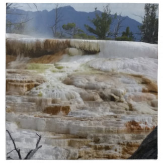Mammoth Hot Springs Napkin