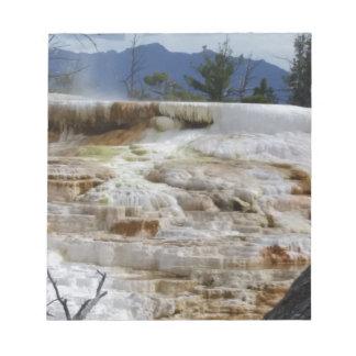 Mammoth Hot Springs Notepad