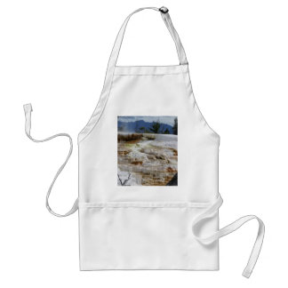 Mammoth Hot Springs Standard Apron