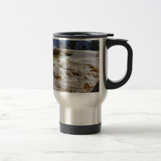 Mammoth Hot Springs Travel Mug