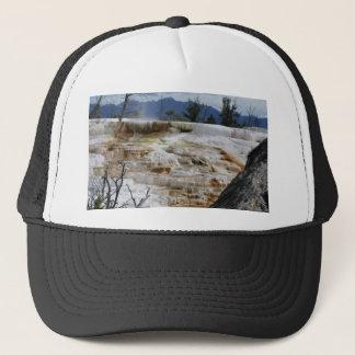 Mammoth Hot Springs Trucker Hat