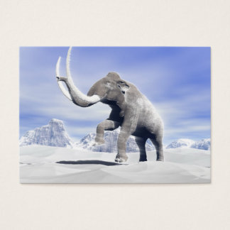 Mammoth in the wind business card