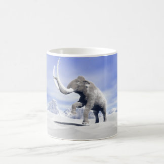 Mammoth in the wind coffee mug