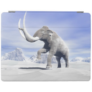 Mammoth in the wind iPad cover