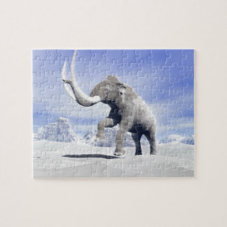 Mammoth in the wind jigsaw puzzle