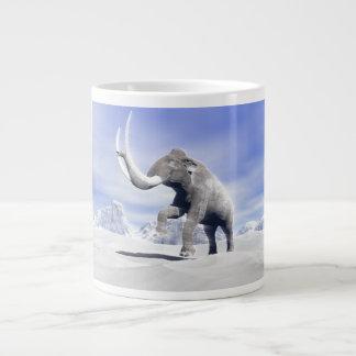 Mammoth in the wind large coffee mug