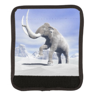 Mammoth in the wind luggage handle wrap