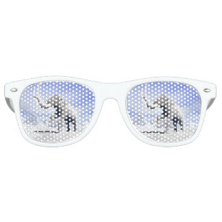 Mammoth in the wind party sunglasses