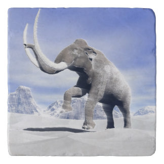 Mammoth in the wind trivet