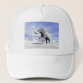 Mammoth in the wind trucker hat