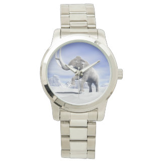 Mammoth in the wind wrist watches