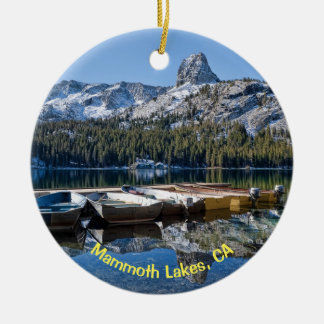 Mammoth Lakes, CA Ceramic Ornament