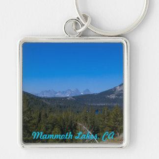 Mammoth Lakes, CA keychain
