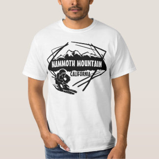 Mammoth Mountain California black ski value tee