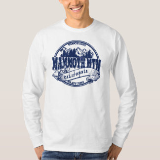 Mammoth Mountain Old Circle Blue T-Shirt