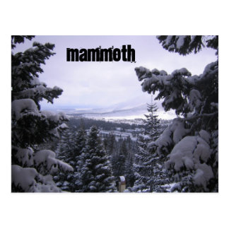 Mammoth Mountain Postcard