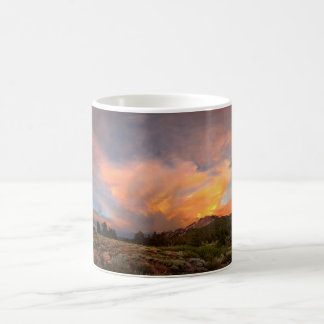 Mammoth Mountain Sunset from Minaret Summit Coffee Mug