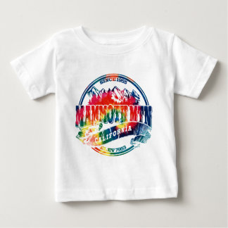 Mammoth Mtn Old Circle TieDye Baby T-Shirt