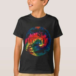 Mammoth Mtn Old Circle TieDye T-Shirt