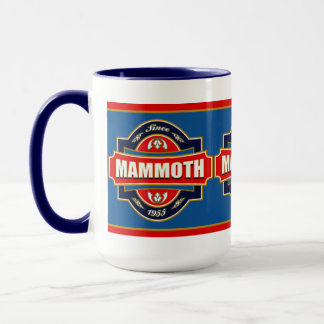 Mammoth Old Label Mug