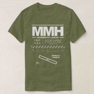 Mammoth Yosemite Airport MMH T-Shirt