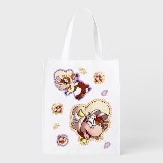 Mamoo Reusable Tote Reusable Grocery Bags